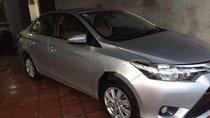 Cần bán gấp Toyota Vios MT năm 2015, màu bạc như mới, giá 430tr