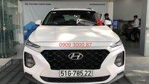 Bán Hyundai Santa Fe 2019 xăng thường, màu trắng, Hyundai An Phú