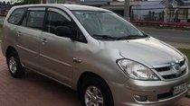Cần bán Toyota Innova G đời 2007, màu bạc, giá chỉ 237 triệu