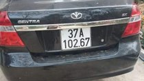 Bán Daewoo Gentra đời 2009, màu đen, xe nhập