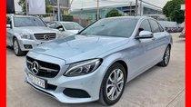 Bán xe Mercedes C200 bạc 2018 chính hãng, trả trước 550 triệu nhận xe với gói vay ưu đãi