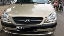 Cần bán gấp Hyundai Getz 2010, màu vàng, nhập khẩu nguyên chiếc