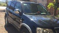 Cần bán lại xe Ford Escape đời 2005, màu đen