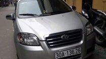 Cần bán lại xe Daewoo Gentra đời 2009, màu bạc, nhập khẩu nguyên chiếc chính chủ, giá tốt