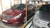 Bán Hyundai Sonata 2.0 AT sản xuất 2010, màu đỏ, xe nhập