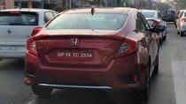 Honda Civic 2019 facelift chạy thử không che chắn tại Ấn Độ, ra mắt ngày 8/3