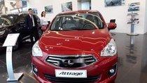 Bán xe Mitsubishi Attrage đời 2019, màu đỏ, nhập khẩu, 375.5 triệu