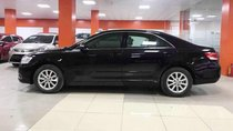 Cần bán gấp Toyota Camry 2.4G đời 2011, màu đen xe gia đình, giá tốt