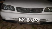 Cần bán xe Toyota Corolla năm sản xuất 2001, màu trắng