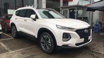 Bán Hyundai Santa Fe đời 2019, màu trắng, giá chỉ 995 triệu