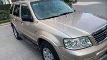 Bán Ford Escape AT XLT năm sản xuất 2007, màu vàng, chính chủ, 23.5tr