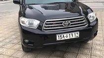 Bán xe Toyota Highlander Limited 3.5 AWD đời 2008, màu đen, nhập khẩu, số tự động