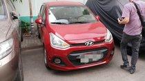Bán Hyundai Grand i10 MT sản xuất 2016, màu đỏ, nhập khẩu nguyên chiếc