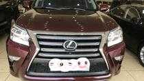 Bán Lexus GX460 màu mận, sản xuất và đăng ký 2015, biển Hà Nội, thuế sang tên 2%, giá tốt