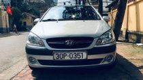 Cần bán xe Hyundai Getz 1.4AT sản xuất 2009, màu bạc
