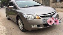 Cần bán lại xe Honda Civic 2.0 năm 2008, màu xám, giá tốt