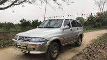 Bán lại xe Ssangyong Musso đời 1998, màu bạc, xe nhập