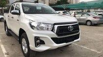 Bán xe Toyota Hilux sản xuất 2018, màu trắng, nhập khẩu