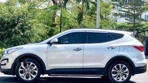 Cần bán gấp Hyundai Santa Fe sản xuất năm 2015, màu bạc, giá tốt