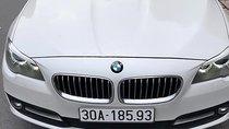 Bán ô tô BMW 5 Series 520i năm sản xuất 2013, màu trắng, nhập khẩu