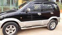 Bán ô tô Daihatsu Terios 1.3 4x4 MT 2005, màu đen, giá tốt