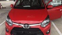 Toyota Wigo 1.2MT số sàn, màu đỏ, xe nhập, hỗ trợ vay 85%. Thanh toán 100tr nhận xe ngay