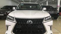 Bán Lexus LX570 Super Sport, màu trắng, nội thất kem, xe giao ngay. LH: 0906223838
