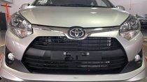 Bán xe Toyota Wigo 1.2 AT, màu bạc, nhập khẩu giao ngay