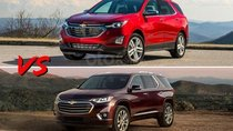 So sánh Chevrolet Equinox và Chevrolet Traverse 2019