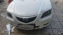 Bán Mazda 3 1.6MT sản xuất 2005, màu trắng, nhập khẩu xe gia đình, giá chỉ 275 triệu