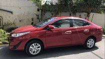 Bán lại xe Toyota Vios E năm 2019, màu đỏ số tự động, giá 580tr