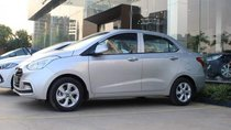 Bán ô tô Hyundai Grand i10 đời 2018, màu bạc, 408 triệu