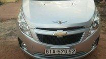 Cần bán Chevrolet Spark sản xuất 2013, màu bạc, xe nhập chính chủ