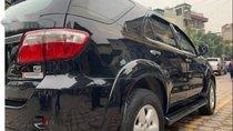 Bán xe Toyota Fortuner 2.5 G đời 2011, màu đen, số sàn
