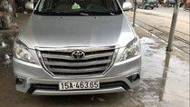Bán Toyota Innova năm sản xuất 2015, màu bạc, nhập khẩu nguyên chiếc