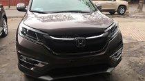 Bán ô tô Honda CR V 2.4 AT sản xuất năm 2016, màu nâu chính chủ giá cạnh tranh