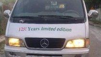 Bán xe Mercedes-Benz MB 140 đời 2003, đã cải tạo thành bán tải van 6 chỗ ngồi và 800kg