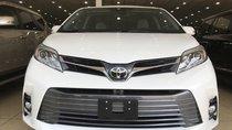 Bán Toyota Sienna 3.5 Limited, 2019, màu trắng, nội thất nâu, mới 100%, xe giao ngay. LH: 0906223838