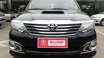 Cần bán xe Toyota Fortuner 2.5G đời 2016, màu đen
