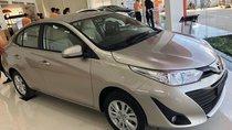 Toyota Vios 1.5E CVT đời 2019, màu nâu vàng giao ngay khuyến mãi lớn