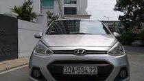 Bán Hyundai Grand i10 năm sản xuất 2014, màu bạc, nhập khẩu nguyên chiếc