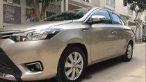 Cần bán gấp Toyota Vios E sản xuất năm 2017, màu vàng, 535 triệu