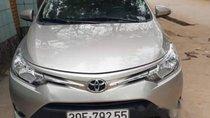 Cần bán Toyota Vios E đời 2017, màu bạc còn mới, 495tr