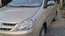 Cần bán lại xe Toyota Innova năm sản xuất 2007, màu vàng