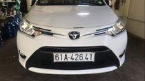 Cần bán gấp Toyota Vios E sản xuất 2017, màu trắng chính chủ