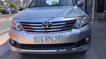 Bán xe Toyota Fortuner đời 2014, màu bạc chính chủ