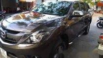 Cần bán gấp Mazda BT 50 2017, màu nâu chính chủ