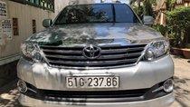 Bán xe Toyota Fortuner AT đời 2016, màu bạc, 860 triệu