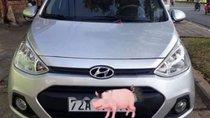 Cần bán lại xe Hyundai Grand i10 Grand 1.0 MT năm 2016, màu bạc