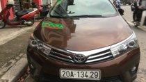 Cần bán Toyota Corolla altis 1.8 AT năm 2015, màu nâu